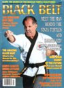 Black Belt magazine cover, July 1991